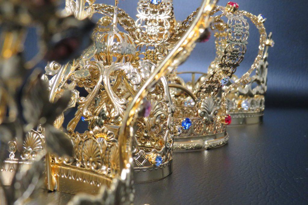 Particolare di una corona