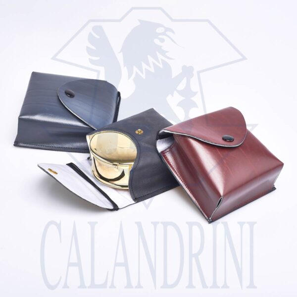 Leather case for boxes or cases