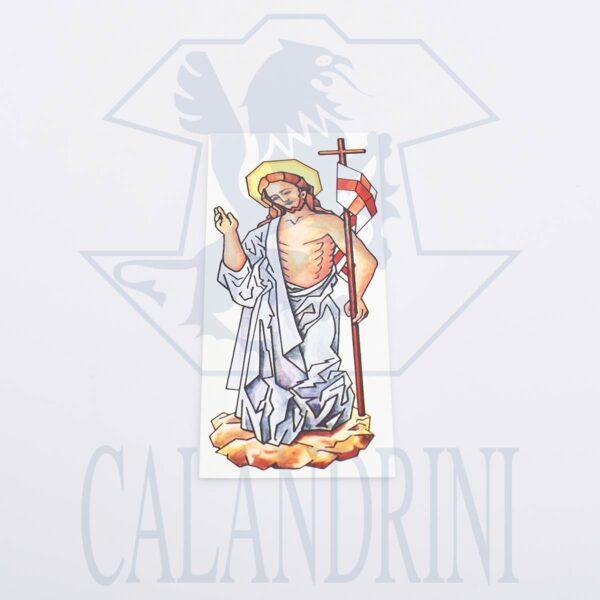 Calcomanía h. cm. 21 resucitado cristo